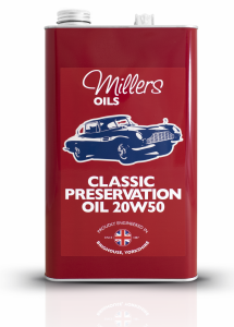 Classic Preservation Oil 20W50 Millers Oils