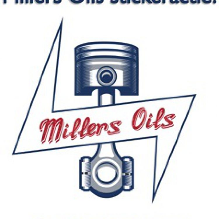 Millers Oils sticker